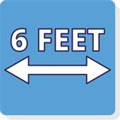 Six Feet Icon