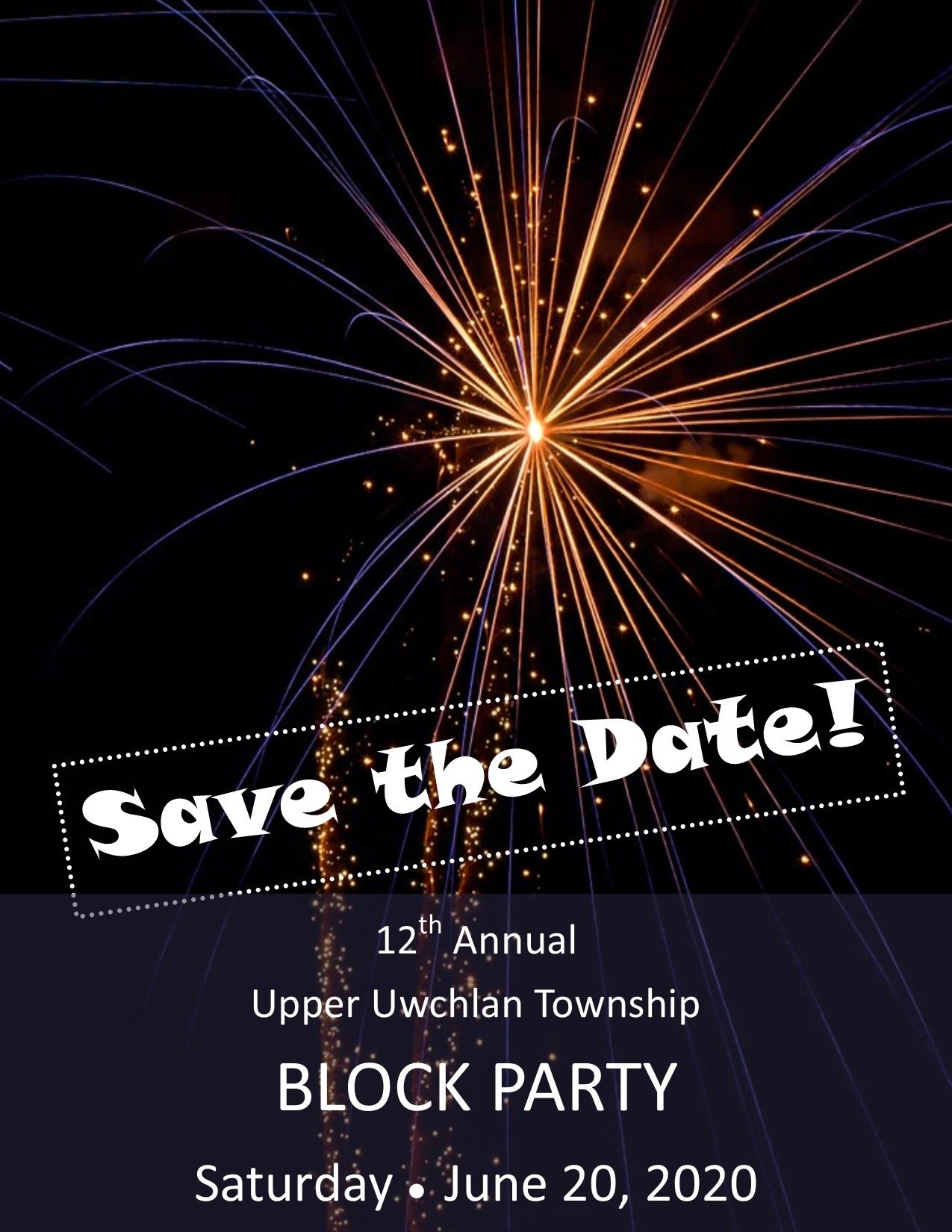 BlockParty2020SavetheDate