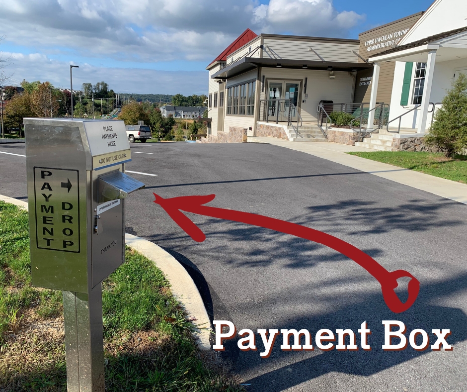 Payment Box at Township Building